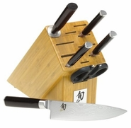 Shun Classic Essential 7 Piece Knife Block Set