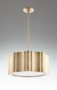 Silver Cloud Nine Six Light Pendant by Cyan Design