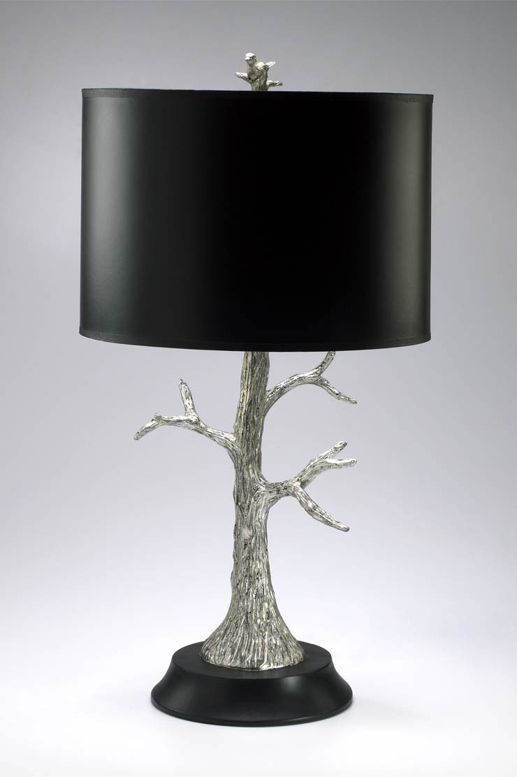 Silver Leaf Resin Tree Lamp by Cyan Design