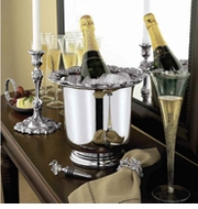 Silver Plate, Nickel & Brass Entertaining & Home Decor Collection