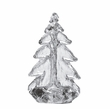 "Simon Pearce 6"" Crackle Glass Vermont Evergreen Tree"