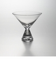 Simon Pearce Clear Stemless Martini