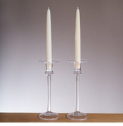 Simon Pearce Glass Candleholders