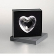 Simon Pearce Glass Highgate Heart Dish Boxed