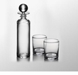 Simon Pearce Hartland Decanter Drink Set - (1) F0755 & (2) F0235