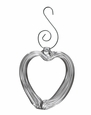 Simon Pearce Highgate Heart Glass Bauble Ornament