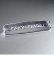 Simon Pearce Name Plate - 10""