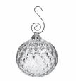 Simon Pearce Royalton Optic Glass Bauble Ornament