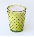 Simpatico Hobnail Glass Candle - 16 oz Fir & Grapefruit