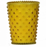 Simpatico Hobnail Glass Candle - 16 Oz Meyer Lemon