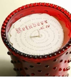 Simpatico Hobnail Glass Candle - 16 oz Reindeer