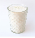 Simpatico Hobnail Glass Candle - 16 oz Scotch Pine