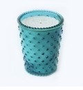 Simpatico Hobnail Glass Candle - 16 oz Spanish Lime