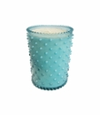 Simpatico Home Cucumber & Gin Hobnail Glass Candle 16Oz