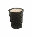Simpatico Home Forest Night Hobnail Glass Candle 16Oz