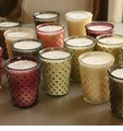 Simpatico Home Hobnail Candles