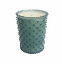 Simpatico Home Skye Hobnail Glass Candle 16Oz