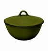 Skyros Designs Cantaria Individual Round Covered Casserole - Pine Green