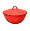 Skyros Designs Cantaria Individual Round Covered Casserole - Poppy Red