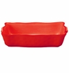 Skyros Designs Cantaria Medium Rectangular Baker - Poppy Red