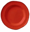 Skyros Designs Cantaria Rimmed Soup Bowl - Poppy Red