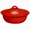 Skyros Designs Cantaria Round Covered Casserole - Poppy Red