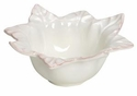 "Skyros Designs Leaf Collection Large Bowl - Ivory 10"" x 3.5"""