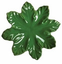 "Skyros Designs Leaf Collection Leaf Plate 11.5"" - Fern Green"