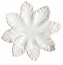 "Skyros Designs Leaf Collection Leaf Plate 11.5"" - Ivory"