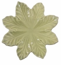 "Skyros Designs Leaf Collection Leaf Plate 11.5"" - Jade"