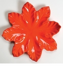 "Skyros Designs Leaf Collection Leaf Plate 11.5"" - Persimmon"