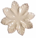"Skyros Designs Leaf Collection Leaf Plate 11.5"" - Polished Sand"