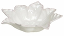 "Skyros Designs Leaf Collection Serving Bowl 16.25 x 5"" - Ivory"