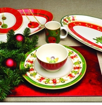 Skyros Designs Winter Angel Dinnerware