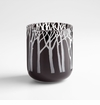 Small Black Forest Glass Vase by Cyan Design