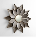 Small Blossom Mirror by Cyan Design