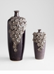 Small Daisy Black Ceramic Vase by Cyan Design (Large Daisy Vase Sold Separately)