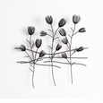 Small Flowers Iron Wire Wall Decor by Cyan Design