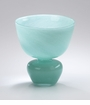 Small Gabriella Turquoise Glass Vase by Cyan Design