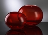 Small Pod Red Glass Vase by Cyan Design (Each Vase is Sold Separately)