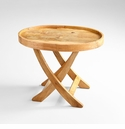 Small Rustica Tray Table by Cyan Design
