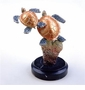 Small Sea Turtle Duo Sculpture by SPI Home