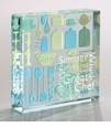 Spaceform Glass Medium Paperweight - Great Chef Gift