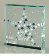 Spaceform London Medium Paperweight Dad You're a Star