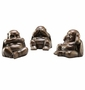 Speak, See and Hear No Evil Buddha Sculptures by SPI Home