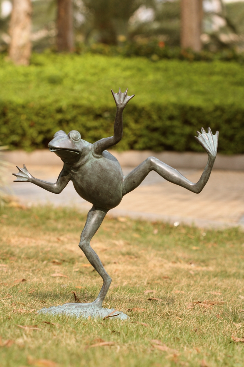 Dancing Frog Spitter Garden Dcor by SPI Home 392 You Save 14700