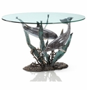 SPI Dolphin Duet Coffee Table