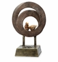 Birds in Circles with Bluetooth Speak Sculpture by SPI Home