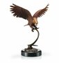 Flying Eagle Sculpture by SPI Home