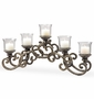 Provincial Glass Candelabra by SPI Home